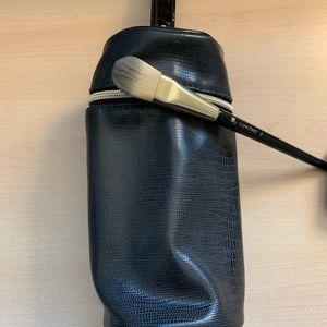 Lancôme foundation brush + bag